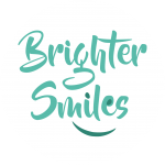 Brighter Smiles Logo green on white circle