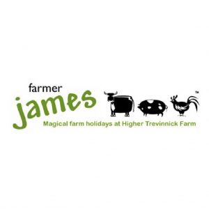 Farmer James logo green and black