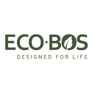EcoBos logo with slogan Designed for life