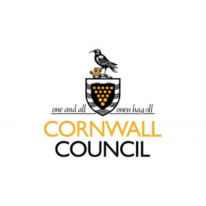 Cornwall Council logo yellow and black