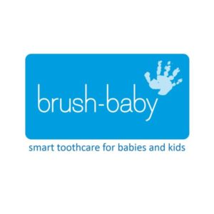 Brush-Baby logo blue